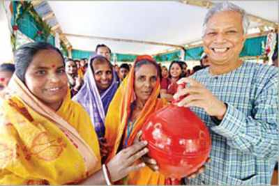 Why Yunus likes to be known as promoter of 'social business'