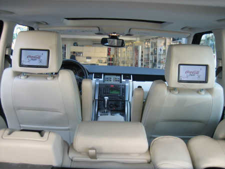 It has a plethora of electronic amenities.