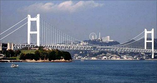 Minami Bisan-Seto Bridge.