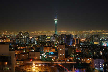 In the 20th century, global wheat output expanded by about five-fold. A view of Teheran.