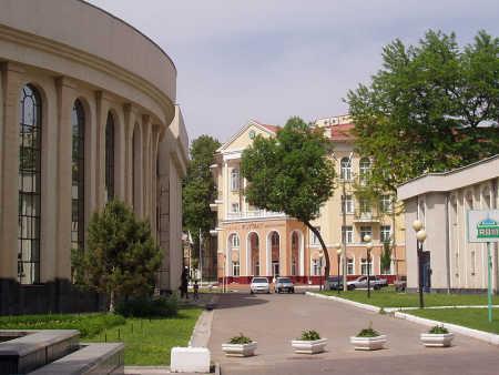 A view of Tashkent.