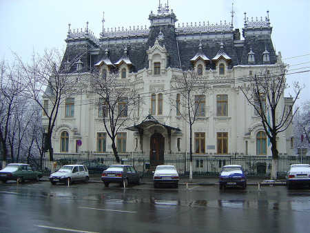 A view of Bucharest.