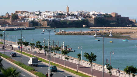 A view of Rabat.