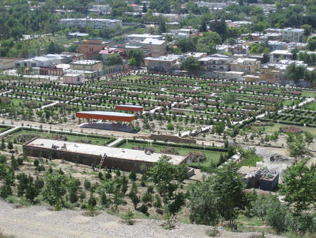 A view of Kabul.