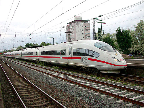 High speed train, Germany.