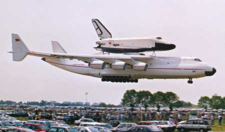The first An-225 was completed in 1988.