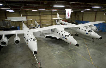 Virgin Galactic SpaceShipTwo.