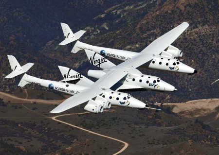 Virgin Galactic hopes to offer orbital human spaceflights as well.