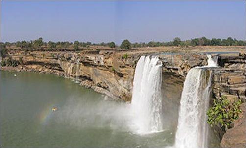 Chitrakot falls.