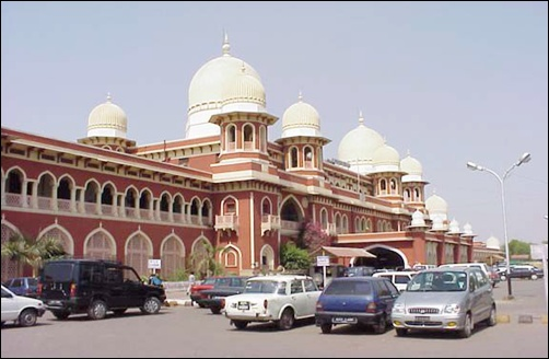 Kanpur station.