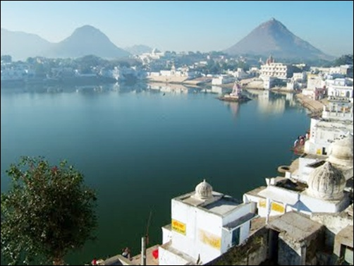 Pushkar lake.