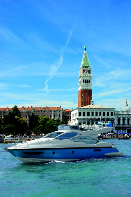 Azimut 45 is a prestigious new arrival.