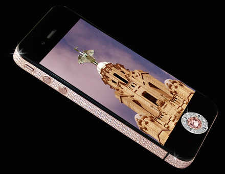 Stuart Hughes iPhone 4 Diamond Rose Edition.