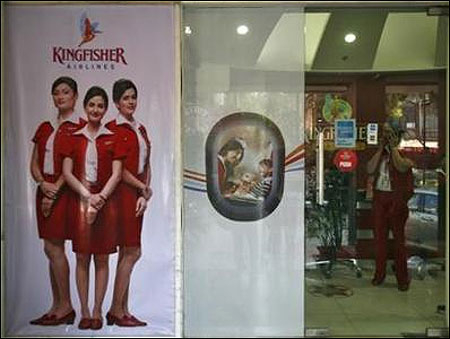 Kingfisher cancels 14 flights from Mumbai, 2 from Delhi