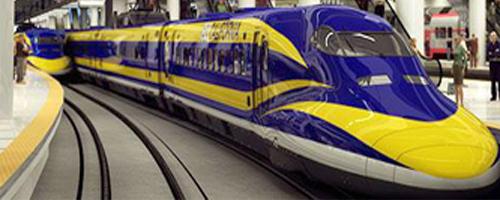 California high speed railway.