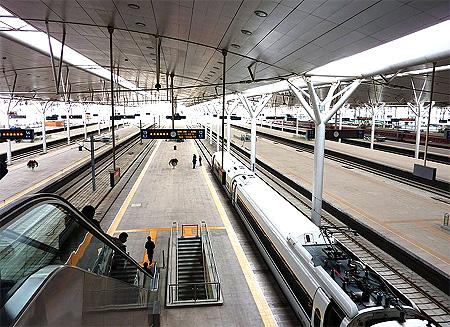 Beijing-Tianjin rail.