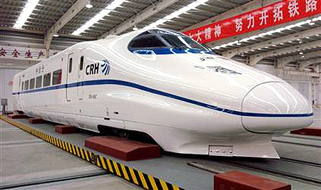 China's high speed rail.