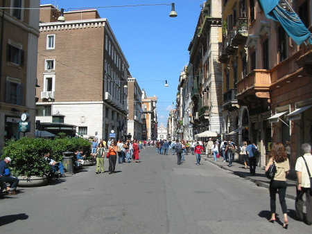 Italy is at number 12. A view of Rome.