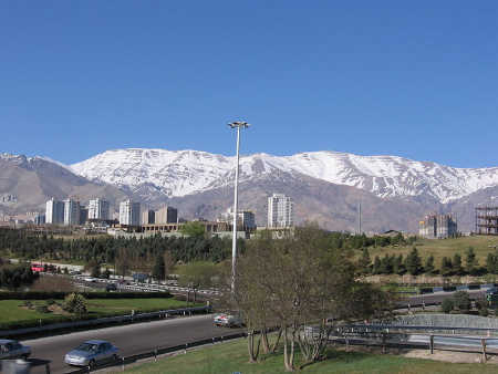Iran is at number 18. A view of Teheran.