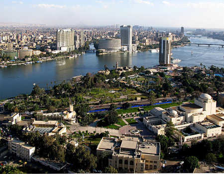 Egypt is at number 24. A view of Cairo.