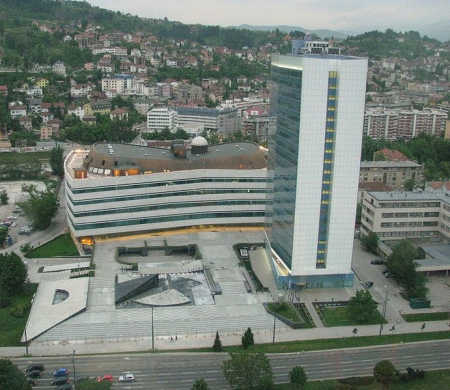 A view of Sarajevo, Bosnia and Herzegovina.