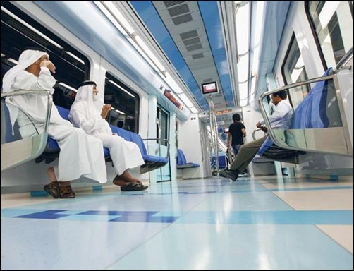 Dubai boasts of world's longest driverless metro network