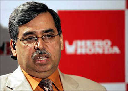 Pawan Munjal, managing director and chief executive, Hero MotoCorp.