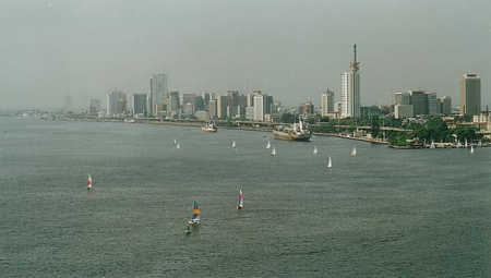 A view of Lagos.