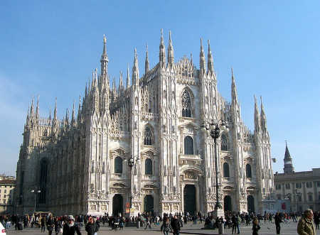A view of Milan.