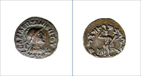 Indo-Greek Coins.