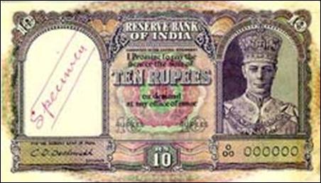 George VI series continued till 1947.