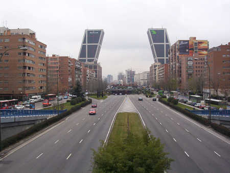A view of Madrid.