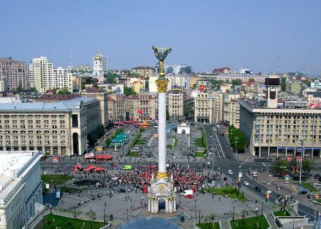 A view of Kiev.