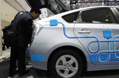 Toyota's Prius Plug-in Hybrid car