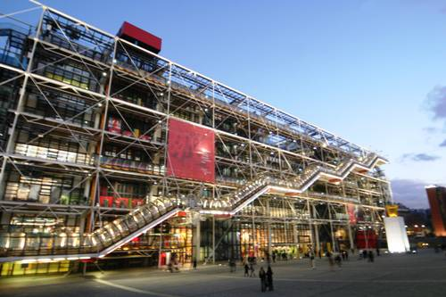 Center Georges Pompidou.