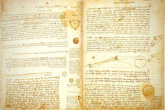 Da Vinci's Notebook.
