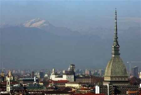 A general view of the city of Turin   Italy' major business and cultural centre
