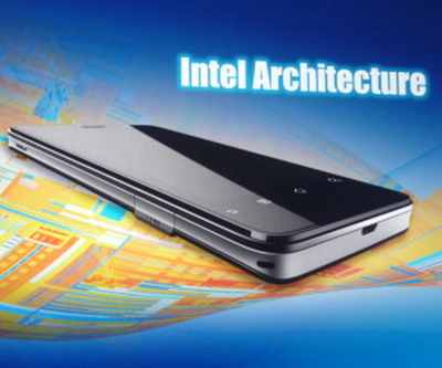 Smartphones with Intel logo from April