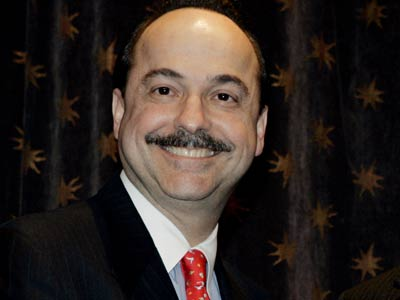 Ralph de la Vega has an approval rating of 55 per cent.
