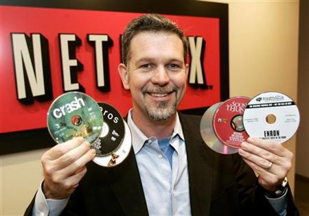 Reed Hastings has an approval rating of 61 per cent.