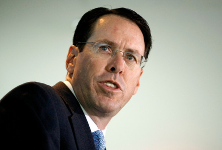 Randall Stephenson is at number seven.