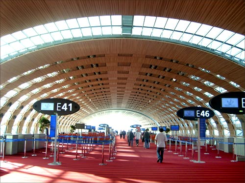 6. Paris Charles de Gaulle Airport.