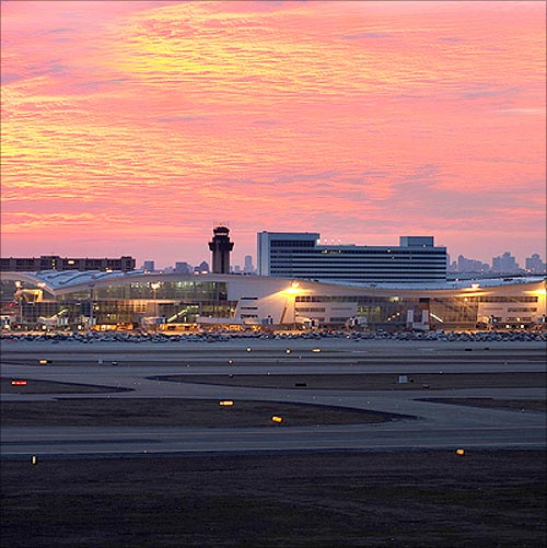 Dallas Fort Worth International Airport.