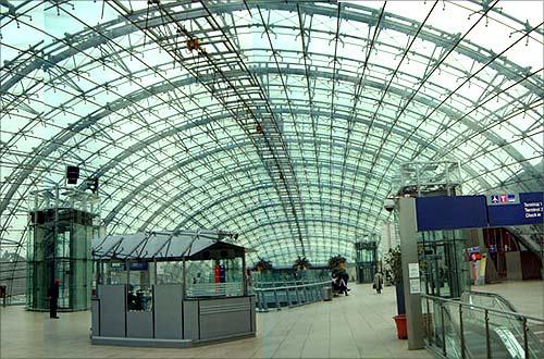 Frankfurt Airport.