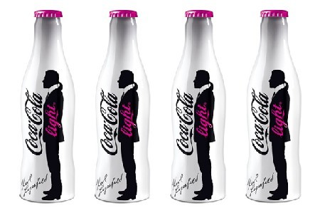 Karl Lagerfeld's Coco-Cola bottles