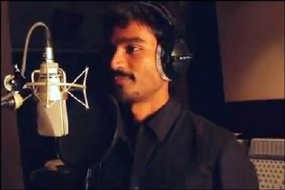 Tamil actor, Dhanush in 'Why this Kolaveri Di' video
