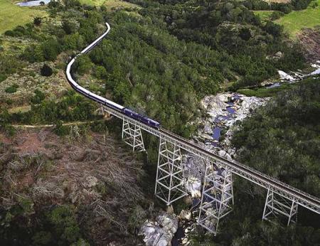 Blue Train travels 1,600-kilometre journey.