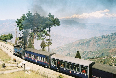 Darjeeling Himalayan Railway is a World Heritage Site.