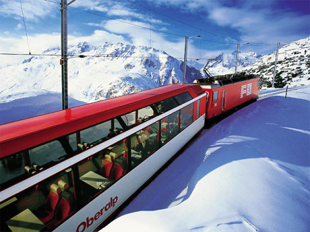 Swiss proudly hail it as the world's slowest express.