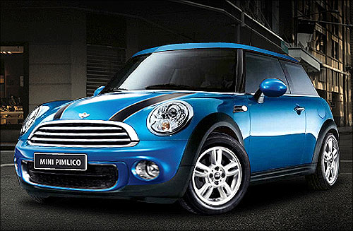 Mini limited edition car.